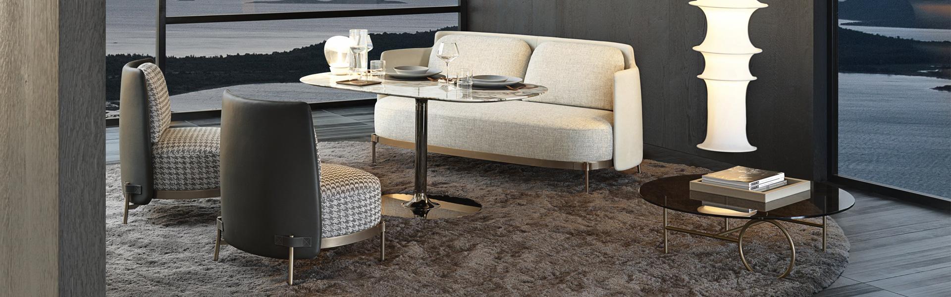 Metal Frame Dining Table Furniture